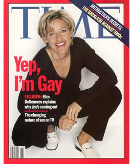 Ellen DeGeneres comes out on Time magazine